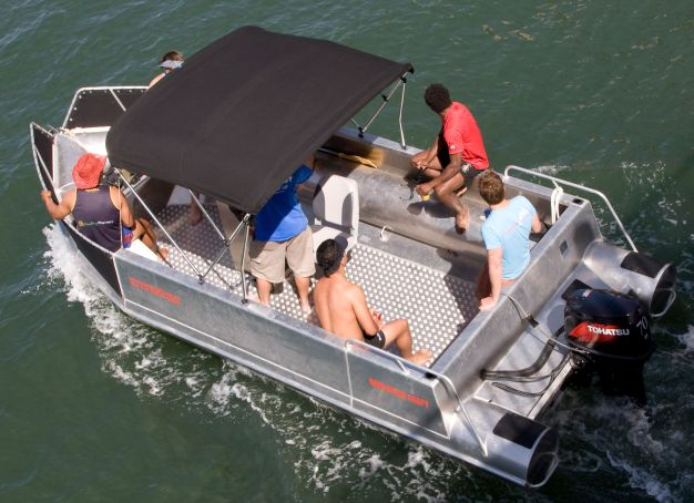click to view OCEAN CRAFT 6000 Fisher BMT package deal