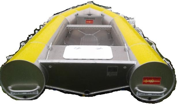 Latest OCEAN CRAFT 3800 Bouncy Craft 3.8 Metre NSCV Compliant DINGHY / AMSA Compliant Non SOLAS Rescue boat
