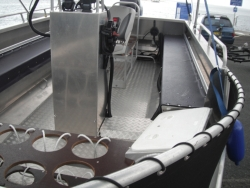 OCEAN CRAFT 6000 ULTRA DEEP VEE Reef Fisher TOHATSU 115HP TLDI 3 STAR Carb Drive Away