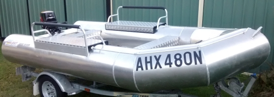 OCEAN CRAFT 3800 DIVER AMSA ULTRA DEEP VEE 30HP Transom Anchor Retainer All round grab rope All Rounder