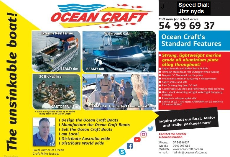 Click here for OCEAN CRAFT Latest Feature Article Newsletter and Update
