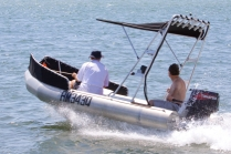 ocean craft 4300 sea king spearo craft with bimini